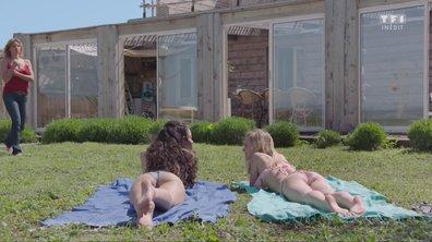 Lola, les seins nus dans le jardin des Delcourt (épisode 230)