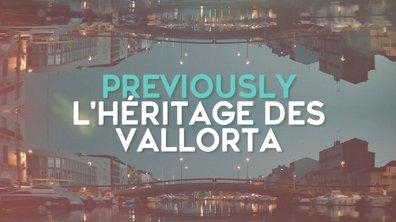 """Le résumé de l'intrigue """"L'héritage des Vallorta"""""""