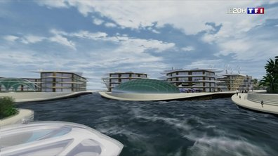 Demain en 3D : à la découverte d'Oceanix, un prototype de la ville du futur de l'ONU