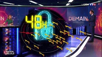 DEMAIN EN 3D - Découvrez le supercalculateur d'IBM qui recherche un traitement au coronavirus
