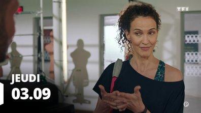 Demain nous appartient du 3 septembre 2020 - Episode 745