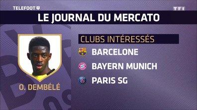 [Exclu Téléfoot 25/06] - Le Barça, le Bayern et le PSG intéressés par Ousmane Dembélé