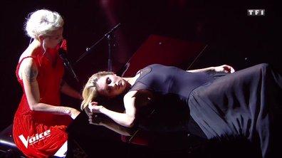 Un sulfureux baiser, Karine Ferri enceinte, Guillaume chante depuis l'espace... Les 5 temps forts du prime