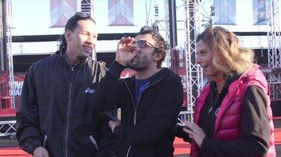 Willy Rovelli, Sara et Teheiura sans voix devant le deuxième parcours