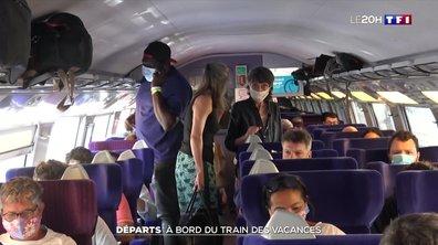 Départ en vacances : comment cela se passe dans un train ?