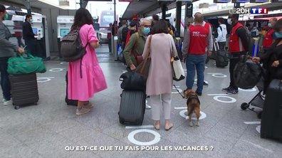 Départs en vacances : les Français nombreux dans les gares