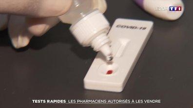 Dépistage du Covid-19 : des tests rapides disponibles en pharmacie