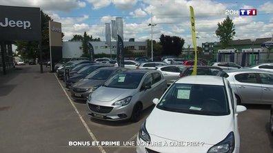 Des bonus et des primes pour relancer les ventes de voitures