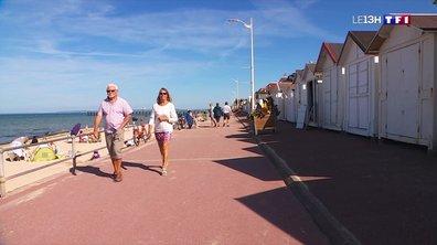 Des cabines de plage centenaires à Luc-sur-Mer