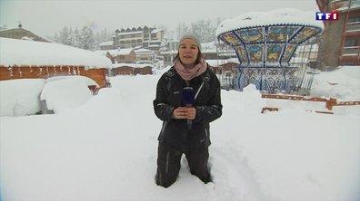 Des chutes de neige exceptionnelles dans les Pyrénées-Orientales