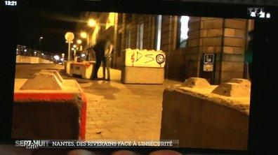 Des commerçants de Nantes face à la délinquance