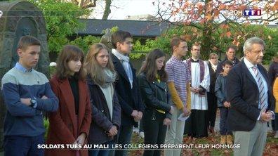 Des élèves de Pau et de Vars rendent hommage aux militaires décédés