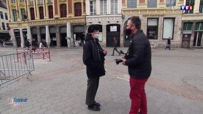 Des grimaces avec le masque : la bonne idée d'un photographe lillois