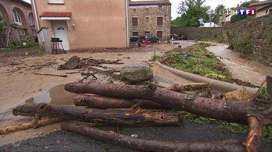 Des inondations dévastatrices en Haute-Loire