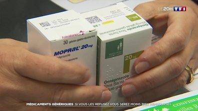 Des médicaments désormais remboursés sur la base des génériques