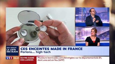 """Des oreillettes et enceintes connectées """"made in France"""""""