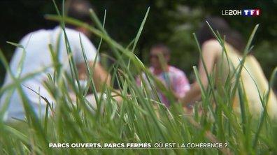 Des parcs ouverts en Île-de-France, d'autres fermés : où est la cohérence ?