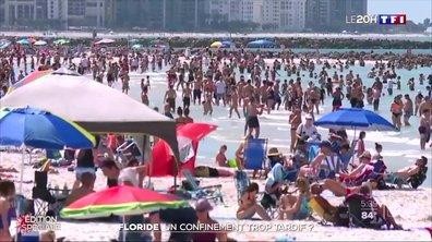 Des plages bondées en Floride malgré le coronavirus