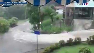 Des pluies diluviennes inondent la Martinique