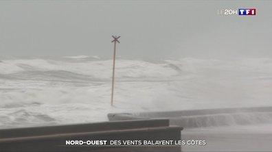Des vents violents balayent les côtes nord-ouest