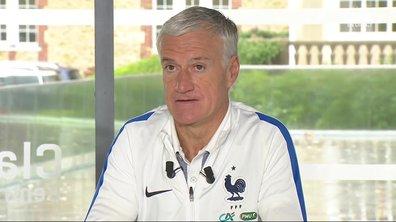 """Equipe de France - Deschamps : """"On va aller en Allemagne pour gagner"""""""
