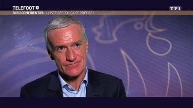 """[EXCLU Téléfoot 18/03] - Equipe de France / Deschamps sur la liste des 23 : """"J'attendrai le dernier moment"""""""