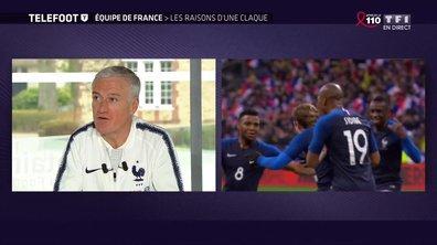 """[EXCLU Téléfoot 25/03] - Deschamps : """"Il y a du caractère dans cette équipe de France"""""""