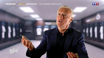 """Didier Deschamps : """"J'ai changé, Karim aussi"""""""