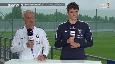 """[Exclu Téléfoot 01/07] - Deschamps sur son discours d'avant-match : """"Les joueurs savaient qui était en face d'eux"""""""