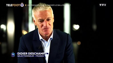 """[EXCLU Téléfoot – 2/12] - Deschamps : """"J'espère et je souhaite qu'un Français gagne le Ballon d'Or"""""""