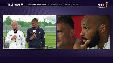"""[Exclu Téléfoot 08/07] - Deschamps évoque les retrouvailles avec Thierry Henry : """"Ça fait bizarre"""""""