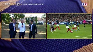 """Deschamps : """"Ikoné a fait ce qu'il est capable de faire avec Lille"""""""
