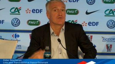 VIDEO - France : la liste pour le Brésil et le Danemark avec Fekir