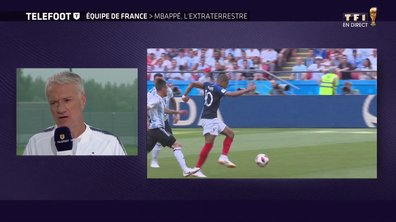 """[Exclu Téléfoot 01/07] - Deschamps sur Mbappé : """"Il faut laisser parler ses pieds, sa vitesse"""""""