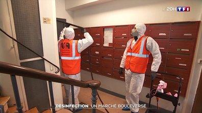 Désinfection : un secteur bouleversé par la crise sanitaire