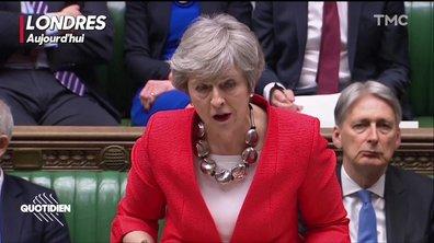 La détresse de Theresa May à deux semaines du Brexit