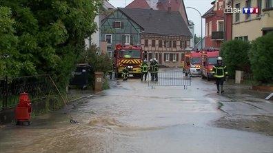 Deux inondations en trois jours pour les habitants d'Hégenheim