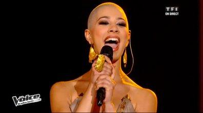 """The Voice: pas de barrières pour Dièse avec """"I'm outta love"""" d'Anastacia"""