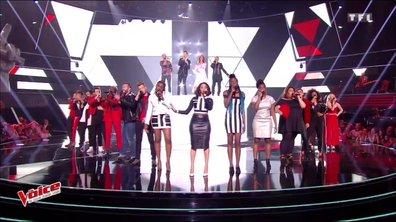 16 Talents, Zazie, Florent Pagny, M Pokora et Mika - « Shape Of You » (Ed Sheeran) (Direct 1 - Saison 6)