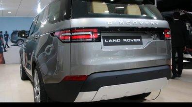 Mondial de l'Auto 2016 : Land Rover Discovery, moins 4x4, plus premium