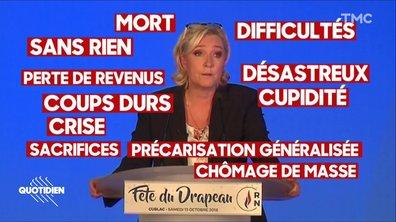 DJ Marine Le Pen met l'ambiance pour les Européennes