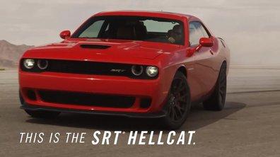 Dodge Challenger SRT HEMI Hellcat 2015 : présentation officielle
