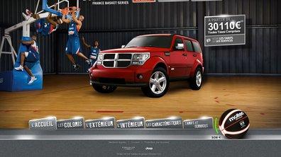 Un Dodge Nitro spécial basket-ball pour 29.990€ !