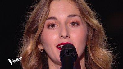 """The Voice 2021 - Domitille chante """"Je voulais te dire que je t'attends"""" de Michel Jonasz"""