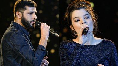 "THE VOICE 2020 - Don Pierre VS Louise Combier chantent ""Dis-lui toi que je t'aime"" de Vanessa Paradis (BATTLES)"