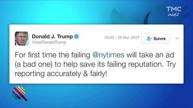 Donald Trump : un mois de tweet, de golf et d'amour avec les médias