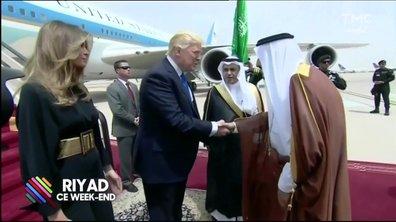 Donald Trump en virée à l'étranger : petit répit loin des scandales