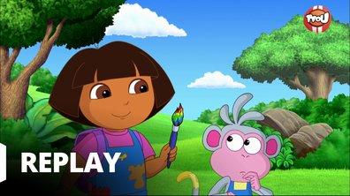 Dora l'exploratrice - Dora et le pinceau magique
