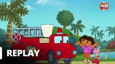 Dora l'exploratrice - Un camion dans l'ornière