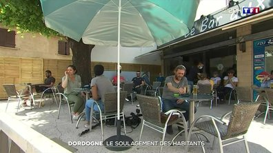 Dordogne : la délivrance des habitants du Lardin-Saint-Lazare